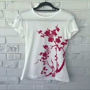 The North Face Cherry Blossom Tee Size XS